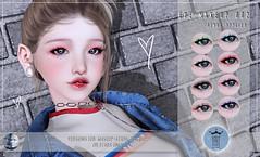 Rekt Royalty - Eye Makeup 002 (britny_rae) Tags: second life sl genus bento babyface applier makeup liner eyeliner hud marketplace