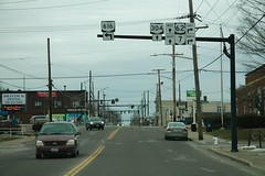 OH304 West - OH616 South US62 OH7 Signs (formulanone) Tags: ohio oh304 304 oh616 616