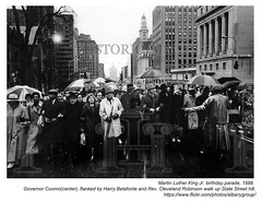 1988 Martin Luther King Jr birthday parade (albany group archive) Tags: albany ny history 1988 martin luther king jr birthday parade mario cuomo harry belafonte 1980s old vintage photos picture photo photograph historic historical