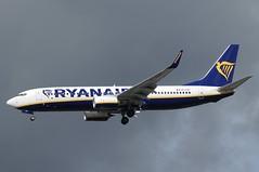 EI-FZY (LIAM J McMANUS - Manchester Airport Photostream) Tags: eifzy ryanair fr ryr boeing b737 b738 738 b73h 73h boeing737 boeing737800 egcc manchester man