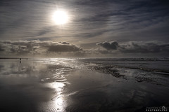 Ocean Shores Beach (BobbyFerkovich) Tags: ocean beach shores washington sand water clouds wind windy sun