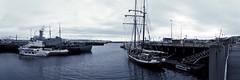 Laivue (karlongchan) Tags: marina reykjavik iceland harbor black white bnw