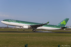Aer Lingus A330-300 EI-GAJ (birrlad) Tags: dublin dub international airport ireland aircraft aviation airplane airplanes airline airliner airways airlines arrival arriving approach finals landing runway aerlingus shamrock airbus a330 a333 a330300 a330302 eigaj ei142