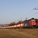 SBB Cargo Re 620 076 mit Dicksaft-Ganzzug bei Lyss Grien