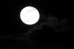 Full Moon,Aberdeen_Feb 19_777 (Alan Longmuir.) Tags: monochrome misc sky grampian aberdeen moon fullmoon night