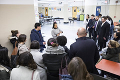 iMentor NYC Comp Sci High '22 February 2019 Pair Event (iMentor) Tags: bronx compscihigh highschool school students highschoolstudents imentor lunchroom mentee mentor mentoring newyorkcity nyc pizza relationship thebronx