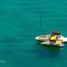 Water and reefs of Ya Nui and Nai Harn beach, Phuket island, Thailand