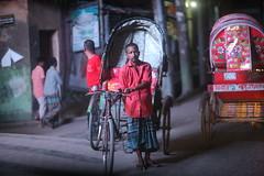 RED RAGE (N A Y E E M) Tags: rickshaw rickshawwalla red availablelight night atmosphere street ashkardighirpar chittagong bangladesh windshield sooc raw unedited untouched