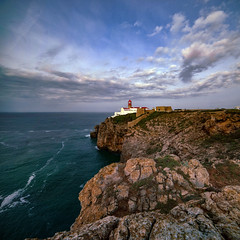 Capo de Sao Vicente (Kari Siren) Tags: lighthouse algarve sakres portugal