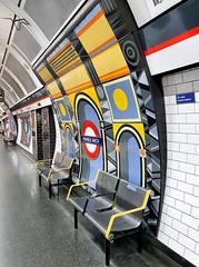 Marble Arch (R~P~M) Tags: london england uk unitedkingdom greatbritain tube londonunderground train railway station annabelgrey mural art enamel vitreousenamel marblearch centralline