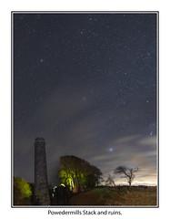 Powdermills02 (mdsphotoimages1) Tags: stars sky clouds color stacks ruins