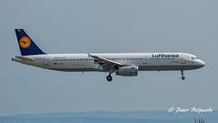 D-AIDN   Airbus A321-231  -  Lufthansa (Peter Beljaards) Tags: msn4976 iaev2533a5 aircraft airplane lufthansa neuss airbusa321231 daidn a321 airbusa321 final landing frankfurt fra eddf