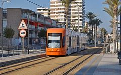2019 Spanje 0572 El Campello (porochelt) Tags: elcampello spanje e comunidadvalenciana provinciadealicante strasenbahn tranvía tram tramway spain spanien españa espagne