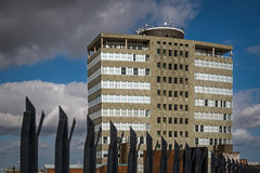 Ross House (Mallybee) Tags: fuji fujifilm xt3 apsc xtrans xmount mallybee fujinon 18135mm ois zoom f3556 ross house great grimsby docks building iconic outside sky