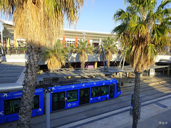 Montpellier Odysseum (jc.d the cycling photographer) Tags: france francese languedocroussillonmidipyrénées languedoc hérault montpellier montpelliermétropoleméditerranée tam tram tramway ligne1 terminus odysseum