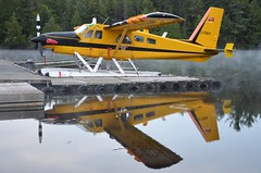 Early Morning Reflections (yyzgvi) Tags: cfoeh de havilland canada dhc2 mk iii turbo beaver algonquin provincial park smoke lake ontario