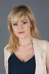 Pearls (piotr_szymanek) Tags: ania aniaz woman young skinny face eyesoncamera studio portrait blonde 1k 20f 50f 5k 10k 100f 20k