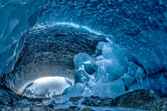 frozen tunnel (Misch el) Tags: frozen water winter white walking switzerland snowcapped snow stones stone swiss ice alps alpine alpen abstract architecture art canon europe eos 5d4 5dmark4 cave canal colour glacier gletscher blue ephemeral fleeting