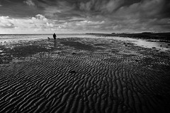 The Rope of Sand (andy_AHG) Tags: scotland galloway wigtownshire northernbritain outdoors rural countryside history legend folklore nikond300s beach bay sand rocks shore sea therhins irishsea rock sky landscape ocean tide lucebay lucesands thedevil michaelscott
