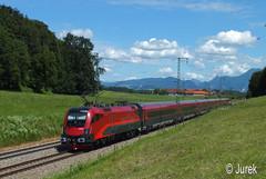 1116 241 (georg1951jurek) Tags: train taurus öbb rail railjet eisenbahn kolei