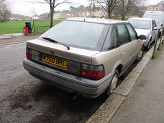 1994 Rover 214i (occama) Tags: m750brl 1994 rover 214i old car british cornwall uk cornish