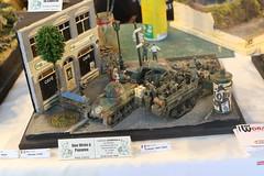 Liberation de Paris (CHRISTOPHE CHAMPAGNE) Tags: 2019 belgique exposition maquette roselie fele maquettisme liberation paris 135 diorama