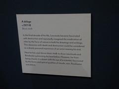 Leonardo da Vinci - A life in drawing - Birmingham Museum & Art Gallery - A deluge c. 1517-18 (ell brown) Tags: chamberlainsquare birmingham westmidlands england unitedkingdom greatbritain birminghammuseumartgallery bmag museum birminghammuseumandartgallery birminghammuseums birminghamcitycouncil artscouncilengland leonardodavinci leonardodavincialifeindrawing royalcollection printroom adelugec151718 sign
