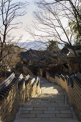 Beomeosa temple. Busan. South Korea (RikkiBoom) Tags: korea holy temple travel asia aasia landscape tree branch mountain sky winter stairs outdoor