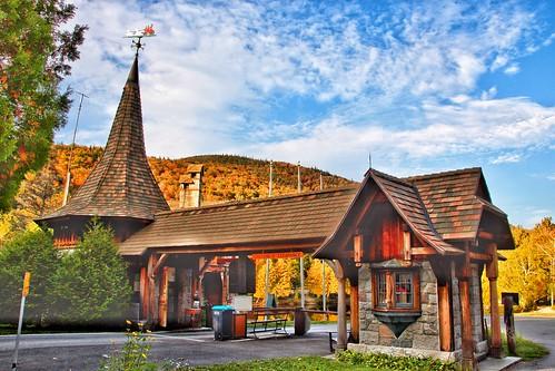 Whiteface Mountain Entrance Gate -   Adirondack Mountains - Wilmington New York