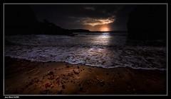 Rayon de Soleil. (faurejm29) Tags: faurejm29 canon ciel sigma sea seascape sky sunset sable paysage plage beach bretagne nature nuages