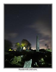 Powdermills11 (mdsphotoimages1) Tags: stars sky clouds color stacks ruins
