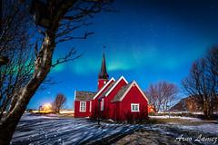 lofotens un n déjà... (arnolamez) Tags: lofoten paysage landscape norway norvege auroreboreale northernlights