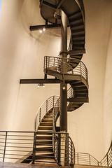Spiral Staircase (michael.heiss) Tags: spain spanien baskenland basque bilbao wendeltreppe staircase spiralstaircase