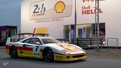 Ferrari F40 GT/LM (chumako@bellsouth.net) Tags: gtsport scapes gaming playstation ps4 cars racecar lemans shell gtlm f40 ferrari