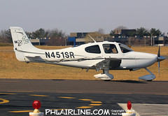 N451SR (PHLAIRLINE.COM) Tags: philadelphiainternationalairport kphl phl bizjet spotting spotter airline generalaviation planes flight airlines philly klom lom