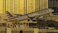 N990AU_LAS_Takeoff_1R (MAB757200) Tags: americanairlines a321231 n990au aircraft airplane airlines airbus airport jetliner las klas takeoff mccarran runway1r