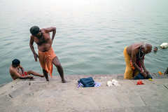 Evening Rituals on the Ganges River, Varanasi (mrhitchens) Tags: varanasi india ganges asia
