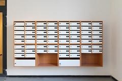 Почтовые ящики (Девелоперская компания) Tags: почтовыеящики подъезд интерьер первыйквартал видное mailboxes staircase interior firstquarter prominent брусника