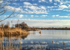 Szachty 2 (KRR_3) Tags: sony a6000 nex selp15105g spring lake pond sky clouds poznan poznań szachty