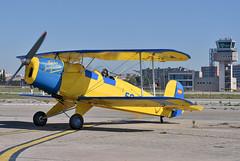 Aeropuerto de Sabadell. LELL. (Josep Ollé) Tags: fpac pac lell sabadell ecftz clásico classical antiguo biplano acrobático hélice biplaza aeropuerto photos aeronáutica