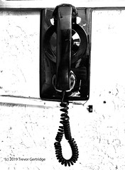 """...leave me hangin' on the telephone...."" (Trevdog67) Tags: blondie hangingonthetelephone hanginonthetelephone telephone directline cord debbieharry newwave"