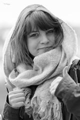 Michalina (piotr_szymanek) Tags: michanlina woman young face portrait studio blackandwhite eyesoncamera hand 1k 20f 5k 50f 10k
