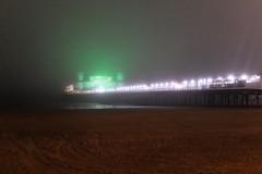 Foggy Pier (sgreen757) Tags: weston super mare somerset town centre fuji x30 fujifilm winter december 2018 grand pier fog foggy lights