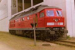 DB 234507-2 (bobbyblack51) Tags: db class 234 232 dr 132 ludmilla coco diesel locomotive 2345072 2325074 1325075 raw neustrelitz 2001