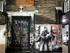 Ernest Pignon-Ernest / Bruxelles - 22 dec 2018 (Ferdinand 'Ferre' Feys) Tags: bxl brussels bruxelles brussel belgium belgique belgië streetart artdelarue graffitiart graffiti graff urbanart urbanarte arteurbano ferdinandfeys