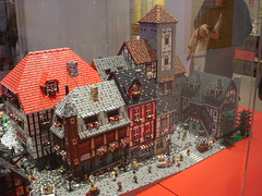 DSC05037 (fdsm0376) Tags: lego exposition madrid 2018 castle roma winter village city ww2