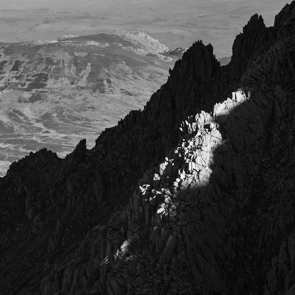 Bristly Ridge In Shadow