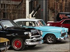 Beauties from America (Logris) Tags: oldtimer classic car auto us usa america amerika duisburg lapadu landschaftspark autotreffen