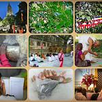 Bodhgaya, Mahabodhi Temple - collage thumbnail