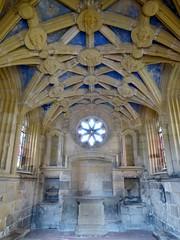 Percy Chapel, Tynemouth Priory (Aidan McRae Thomson) Tags: tynemouth priory church chapel chantry vault vaulting medieval architecture interior tynewear